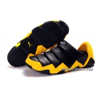 Men's Puma Mummy Low In Black/Yellow Authentic