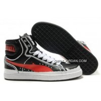 Mens Puma New First Round In Black-Red Free Shipping