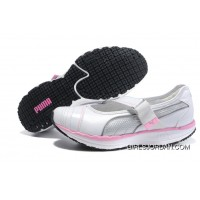 Women's Puma NEW White/Pink Top Deals