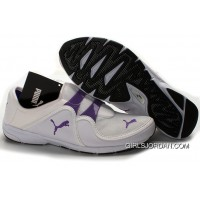 Women's Puma NEW White/Purple Copuon Code