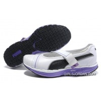 Women's Puma NEW Black/White/Purple For Sale
