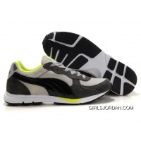 Mens Puma New Shoes In Black Cream Green Copuon Code