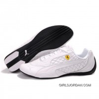 Puma SF Pace Cat II In All White Cheap To Buy
