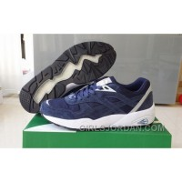 Puma R698 362570-03 Blue White Women/Men New Release