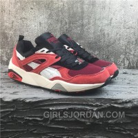 Puma R698 Classic Vintage Running Shoes Red Women/men Lastest