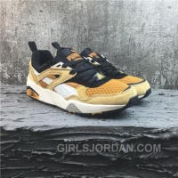 Puma R698 Yellow White Running Shoes New Style