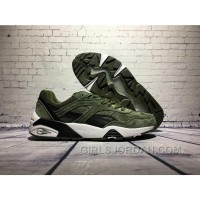 PUMA R698 Dark Green Women/men Discount