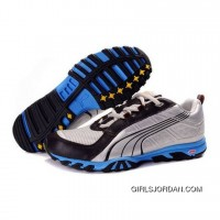Puma Rodalban XC Low Running - Silver Black Blue New Style