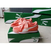 PUMA Roma TK Graphic Womens Pink Butterfly Shoes Basket Best