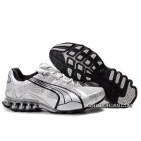 2010 Puma Running Shoes In White/Black New Style