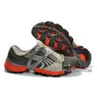 2010 Puma Running Shoes In Gray/Orange Super Deals
