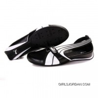 Women's Puma Ferrari Sandals I White Black 01 New Release