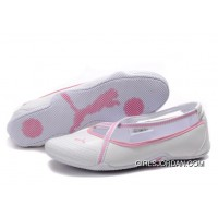 Women's Puma 5 On Behalf Sandals White/ Pink New Release