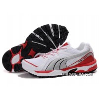 Puma Complete Vectana Shoes White/Silver/Red 1181 Online