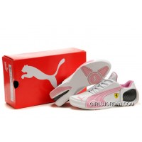 Puma Trionfo Lo L II White/Pink Cheap To Buy