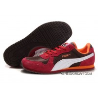 Puma Cabana Racer II LX Sneakers Brown/Red/White New Style