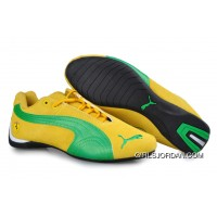Puma BMW Shoes Yellow/Green/White Best