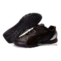 Puma New Style Grit Cat III Shoes Brown Copuon Code