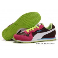 Puma Cabana Racer II LX Sneakers Brown/Red/Green Lastest