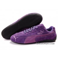 Puma Speed Cat SD Shoes Purple Lastest