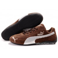 Puma Speed Cat SD Shoes Brown/Silver For Sale