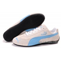 Puma Speed Cat SD Shoes Tan/Blue Online