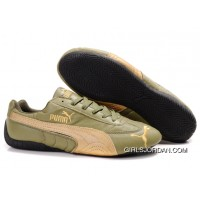 Puma Speed Cat US Shoes Cyan/Sandy/brown Top Deals
