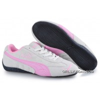 Puma Speed Cat SD Trainers Grey/Pink Top Deals