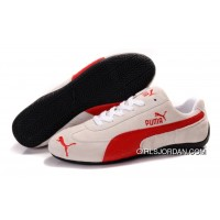 Puma Speed Cat SD Shoes Tan/Red For Sale