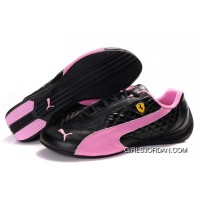 Women's Puma Suede Black-Pink New Style