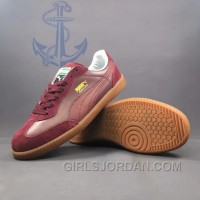 PUMA Super Liga OG Retro 40-44 Men Burgundy Cheap To Buy