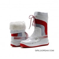 Women's Puma Tour Cat II Boots White Red New Style