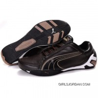PUMA Tour Cat Lo Shoes In Chocolate-Black Best