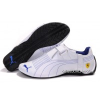 Mens Puma Trionfo Low Baylee In White/Blue New Style
