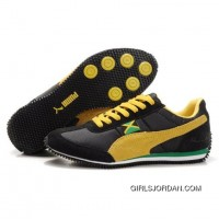 Men's Puma Usain Bolt Running Shoes Black Yellow Copuon Code