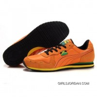 Puma Usain Bolt Running Shoes Orange Top Deals