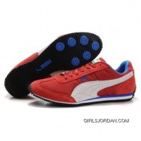 Men's Puma Usain Bolt Running Shoes Red White Lastest