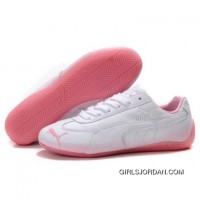Women's Puma Voltaic Shoes White Pink Discount