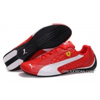 Women's Puma Wheelspin Red/White/Black New Release