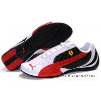 Women's Puma Wheelspin White/Black/Red New Style