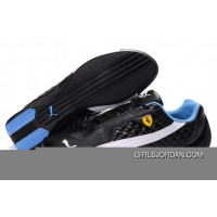 Women's Puma Wheelspin Black/White/Blue Super Deals