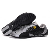 Mens Puma Wheelspin In Gray/Black New Style