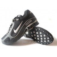 Men's Nike Shox Monster Shoes Black/Silver Free Shipping