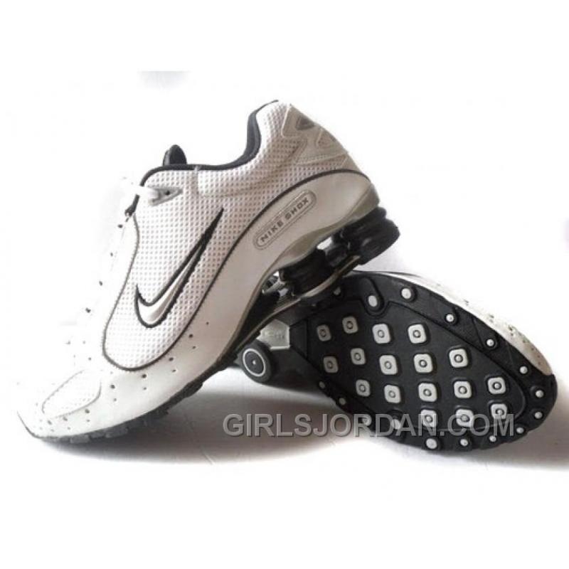 recognized brands affordable price discount shop Men's Nike Shox Monster Shoes White/Black/Silver Cheap To ...