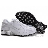Men's Nike Shox Monster Shoes White/Silver New Release