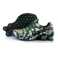 Men's Nike Shox NZ Shoes Camouflage Online