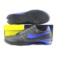Men's Nike Shox R2 Shoes Black/Blue Lastest