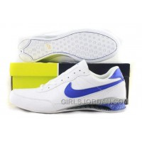Men's Nike Shox R2 Shoes White/Blue Discount