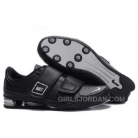 Men's Nike Shox R3 Shoes Black/Silver New Release