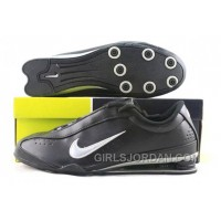 Men's Nike Shox R3 Shoes Black/Silver Free Shipping